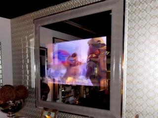 Şik çerçeveli Mirror TV